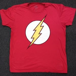 Mens DC Comics Flash Logo T-Shirt